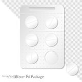Pills Blister Package. Stock Photography