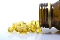 Pills bottle Stock Image