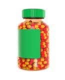 Pills bottle Stock Photo
