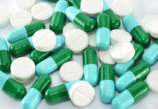 Pills capsule Stock Photography
