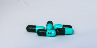 Pills and capsules drug Stock Image