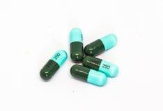 Pills and capsules drug Stock Photo