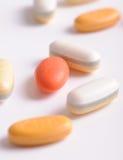 Pills close up Royalty Free Stock Image