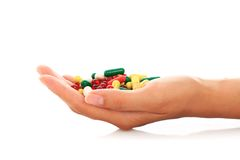 Pills. Royalty Free Stock Photo