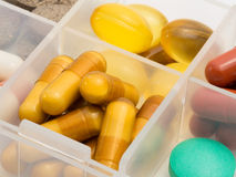 Pills. Stock Images