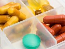 Pills. Royalty Free Stock Photos
