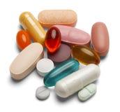 Pills Royalty Free Stock Photos