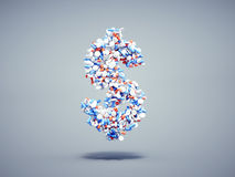 Pills dollar symbol Royalty Free Stock Image