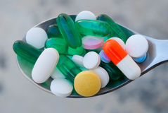 Pills and Drugs Stock Image