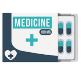 Pills drugs  icon Stock Images