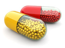 Pills and drugs. Medical concept. Stock Photography