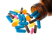 Pills group Stock Photography