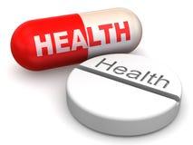 Pills. Health Royalty Free Stock Photo