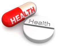 Pills. Health Royalty Free Stock Photos
