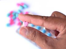 Pills for health care Royalty Free Stock Photo