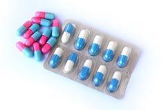 Pills for health care Stock Photos