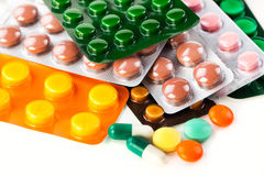 Pills. Royalty Free Stock Photography