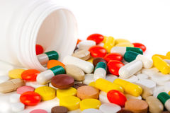 Pills. Royalty Free Stock Images