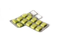 Pills i blåsapacke Arkivfoton