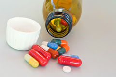 Pills II Royalty Free Stock Photography