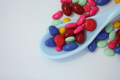 Pills isolated on white Stock Photo