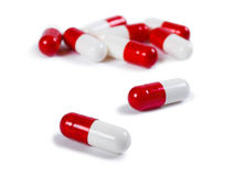 Pills, medical background Royalty Free Stock Images
