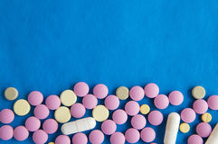 Pills.  Medicine. Stock Photo