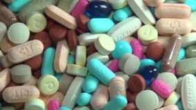 Pills, Medicine, Drugs, Health stock footage