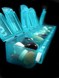 Pills and medicines. Pictures of medicine, pills and pharmaceuticals Royalty Free Stock Images