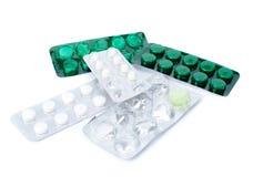 Pills räcker in Royaltyfri Fotografi