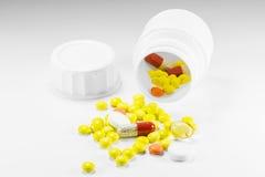 Pills rash Royalty Free Stock Photos