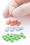 Pills selection Stock Image