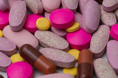 Pills. Shoot of a medicine Pills Royalty Free Stock Image