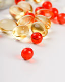 Pills on the table Royalty Free Stock Photo
