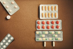 Pills And Tablets Abstract Royalty Free Stock Image