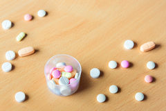 Pills, tablets royalty free stock photo
