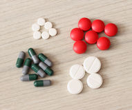 Pills and tablets Royalty Free Stock Photography