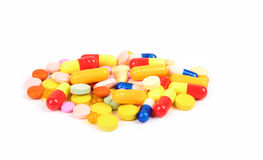 Pills and tablets Royalty Free Stock Image