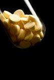 Pills in tube Stock Photos