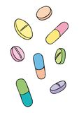 Pills (vector) Stock Image