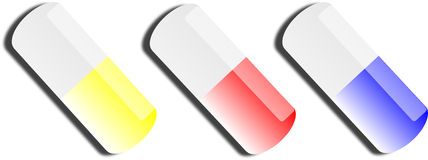 Pills Vector royalty free stock photos