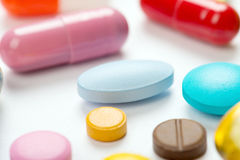 Pills Royalty Free Stock Photography