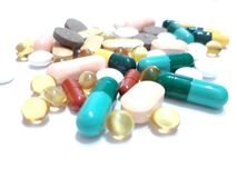 Pills, capsules, tablets royalty free stock photography