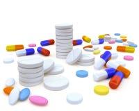 Pills2 Royalty Free Stock Image