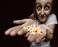 pillskvinna Arkivfoto