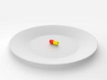 Pillule de médecine Photo stock