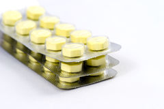Pillules antibiotiques Image stock