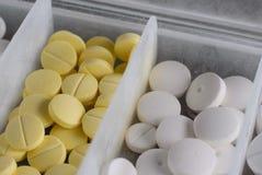 Pillules antibiotiques Photo libre de droits