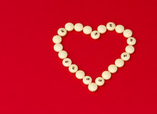 Pillules d'aspirine pour la santé de coeur Images libres de droits