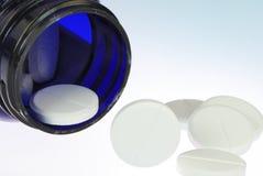 Pillules de vitamine Photographie stock libre de droits